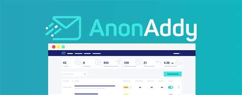 anonaddy anonyme  mail weiterleitungen mit browser