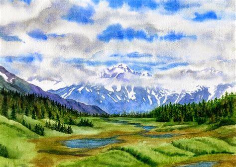 imagenes de paisajes en acuarela cuadros pinturas oleos esplendidas im 225 genes de paisajes