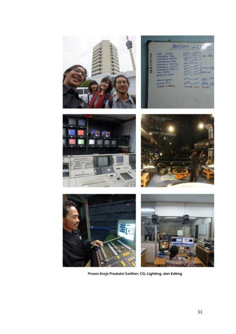 Jurnalistik Televisimutakhir laporan magang luddy revisi akhir