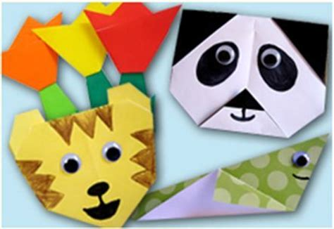 Zhezhi Paper Folding - make your own origami animals preschool arts crafts
