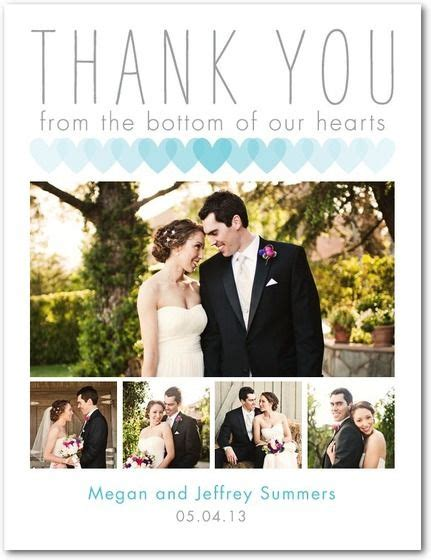 thank you card for wedding 1000 ideas about wedding thank you on wedding