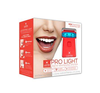 pro light dental whitening system luster pro light dental whitening system lifeandlooks