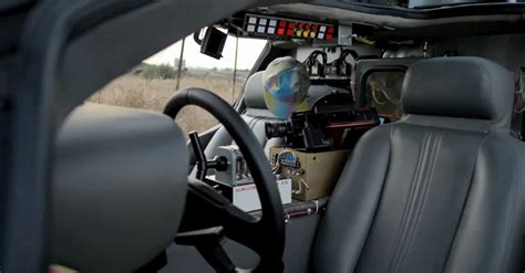 real flux capacitor for sale back to the future fanatic builds delorean time machine replica freakin robotgiant