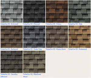timberline shingles color chart timberline shingles color chart images