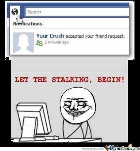 Memes About Stalkers - facebook stalker memes www pixshark com images
