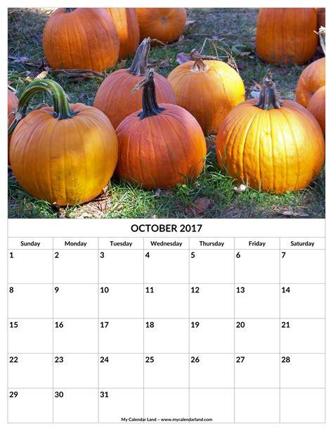 october 2017 calendar my calendar land
