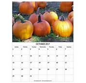 October 2017 Calendar  My Land