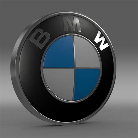 logo bmw 3d bmw logo 3d model buy bmw logo 3d model flatpyramid