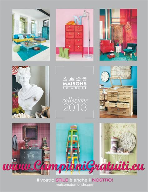 le monde arredamenti catalogo 2013 gratuito di arredamento maisons du monde