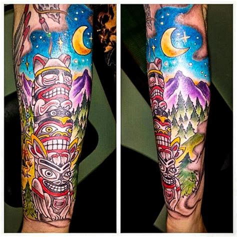 totem pole tattoos 25 best ideas about totem pole on