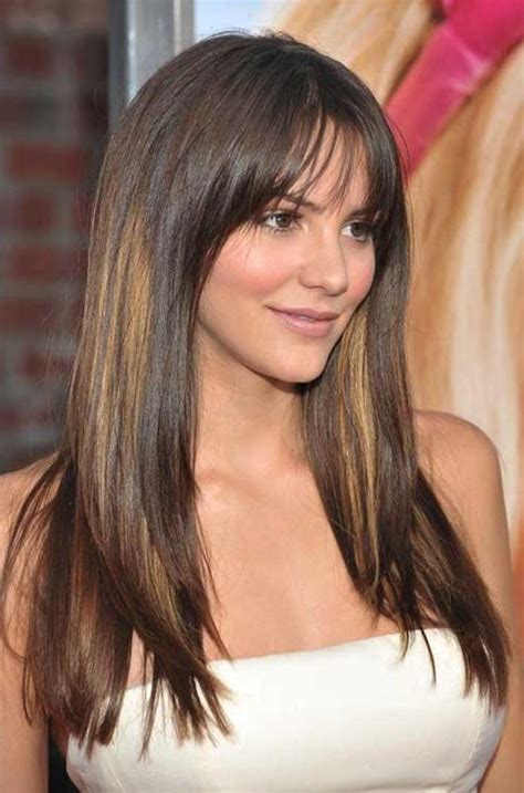 haircuts for long straight hair and round face 2018 popular straight long hairstyles for round faces