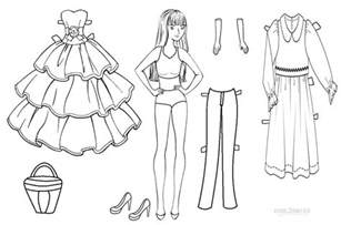 paper doll coloring pages free coloring pages of clothes paper doll