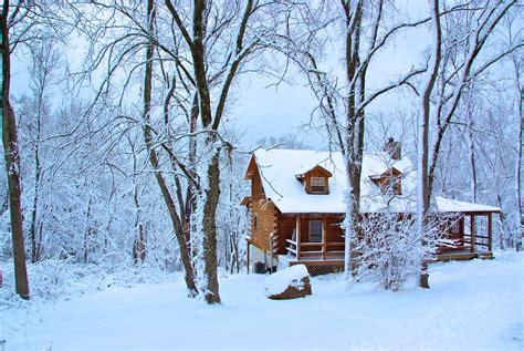 Winter Cabin Dreamscape Hideaway Cabin Rental Hocking Oh Photos