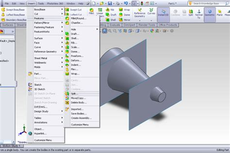 solidworks tutorial lesson 2 assemblies tutorial splitting part into assembly in solidworks