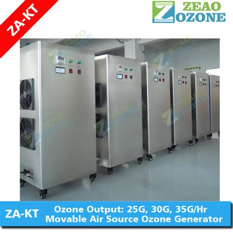 industrial ozone generator for waste water treatment water