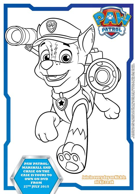 Paw Patrol Colouring Pages And Activity Sheets In The Playroom Printables Activities