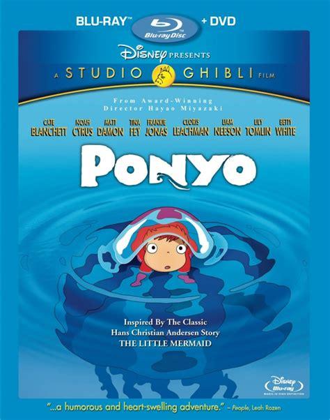 ponyo blu ray slipcover ponyo on blu ray out today review geekadelphia