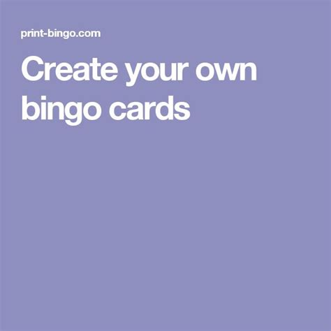 make your cards 25 best ideas about bingo card maker on bingo