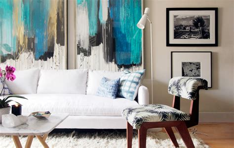 living room abstract 20 stunning living rooms with artwork