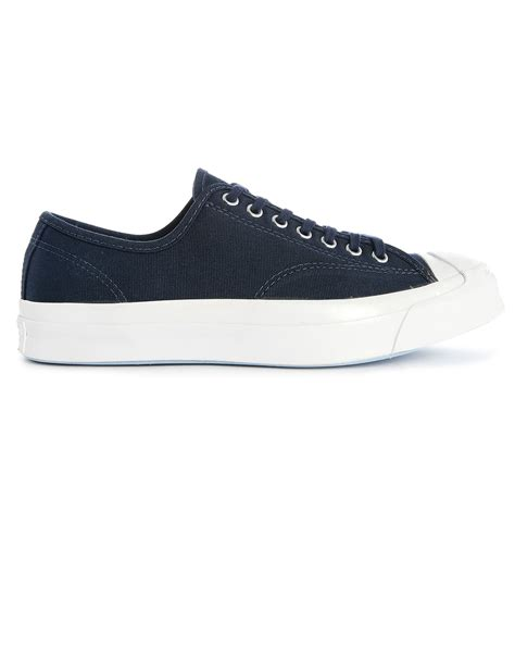 Converse Arizona Ox Midnight Blue converse purcell signature ox midnight blue white canvas sneakers in blue for lyst