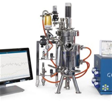 bench top fermenter mini bioreactors fermenters 200 or 1000 ml laval lab
