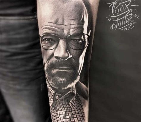 walter white tattoo walter white by cox post 20318