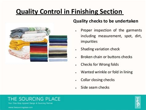 section 8 quality control inspection top 6 garment manufacturing processes and quality checks