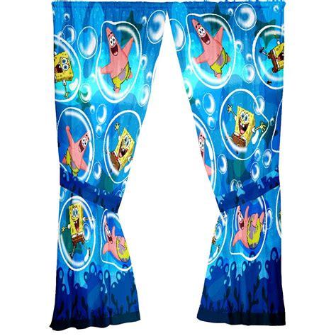 spongebob curtains spongebob shower curtain furniture ideas deltaangelgroup