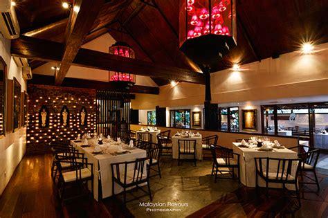 restaurant for new year dinner kl thai burmese cuisine at tamarind hill restaurant kuala