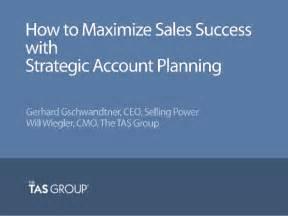 Sales Webinar How To Maximize Sales Success W Strategic Account Pl Webinar Success Templates