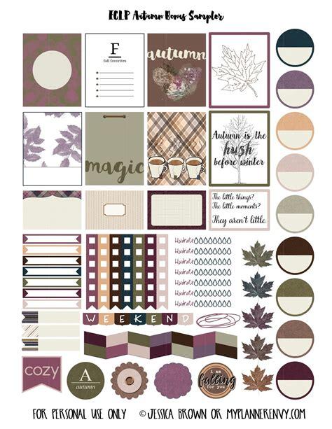 printable planner stickers pdf free printable autumn bonus sler planner stickers pdf
