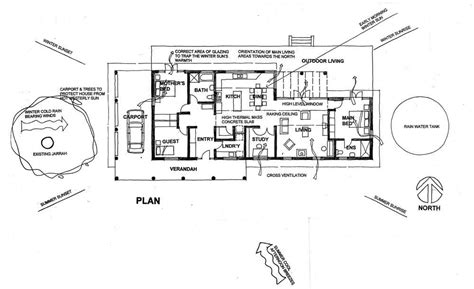 Passive Solar Home Designs Floor Plans Passive Solar House Plans Passive Solar Floor Plans