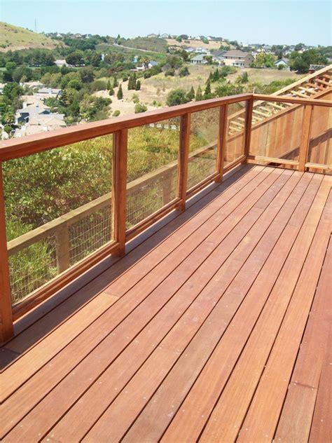 materials for building a deck deck building materials and construction basics hgtv