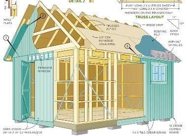 mccarte building plans   shed