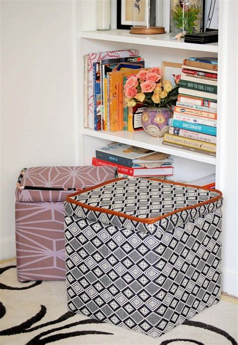 Make Storage Ottoman Diy Ottomans Landeelu