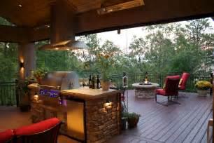 Custom Fireplace Patio Bbq Eight Incredible Deck Remodels From Mega Decks Mega
