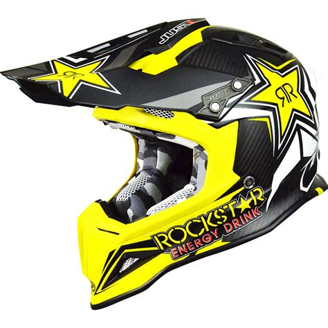 new motocross helmets new just1 mx j12 rockstar 2 0 yellow black dirt bike