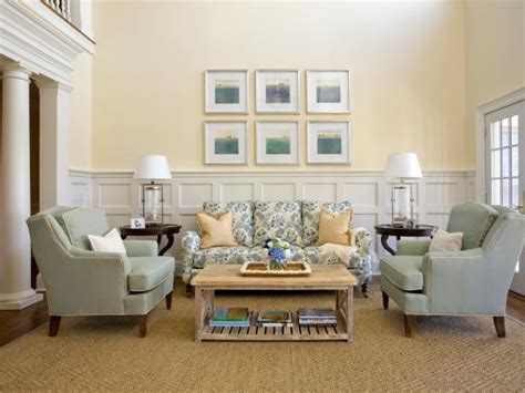 Pastel Yellow Living Room by Photo Page Hgtv