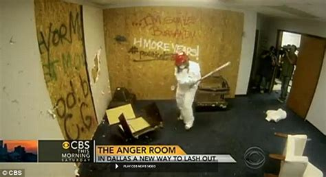 the anger room anger room in provides a space for frustrated customers to unleash their emotions with