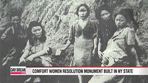 comfort women comfort women resolution monument built in ny state youtube