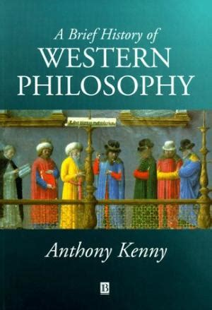 a brief history of western western philosophy by anthony kenny abebooks