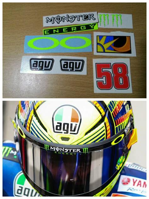 Sticker Helm Jual by Jual Stiker Sticker Visor Helm Agv Tokodadakan