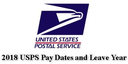 2018 usps pay dates and leave year – postal employee network