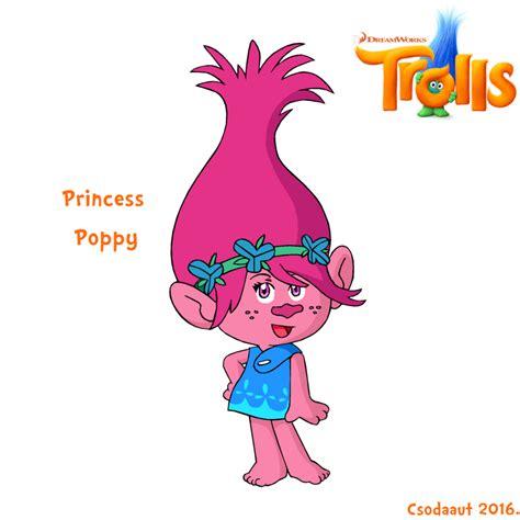 C634 Suki Rainbow Dress Pony Pink dreamworks trolls princess poppy in se style by