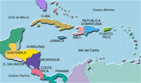 mapa america central y antillas el trompo el trompo