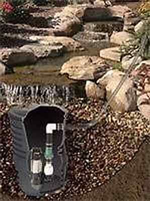 custom pro diy pondless waterfall kit wvault complete
