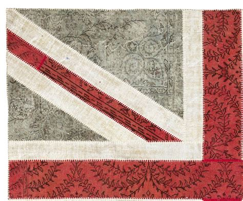 union rugs union design patchwork rug made from distressed vintage carpets for sale at 1stdibs