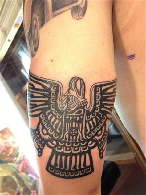 aztec eagle tattoo ak irons aztec eagle