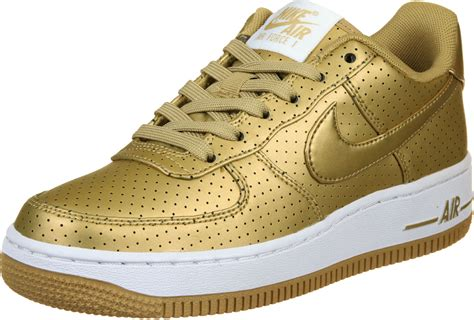 Nike Airforce One Gliter 1 nike air 1 lv8 gs shoes gold white