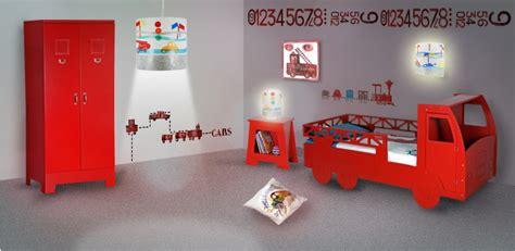 chambre enfant pompier d 233 co chambre pompier
